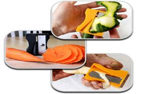تراش و پوست کن سبزیجات مثل هویج