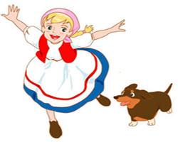 کارتون کامل حنا دختری در مزرعه (کیفیت عالی)