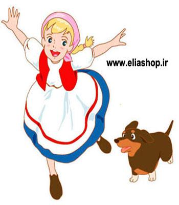 کارتون حنا دختری در مزرعه